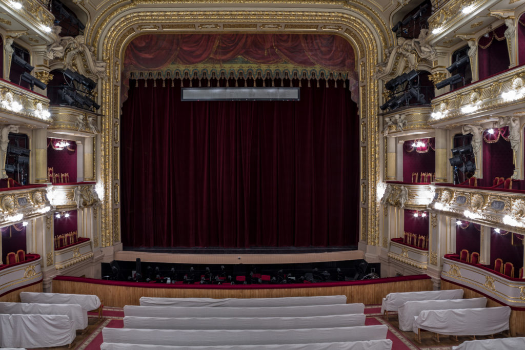 Interior of Lviv Opera Theatre