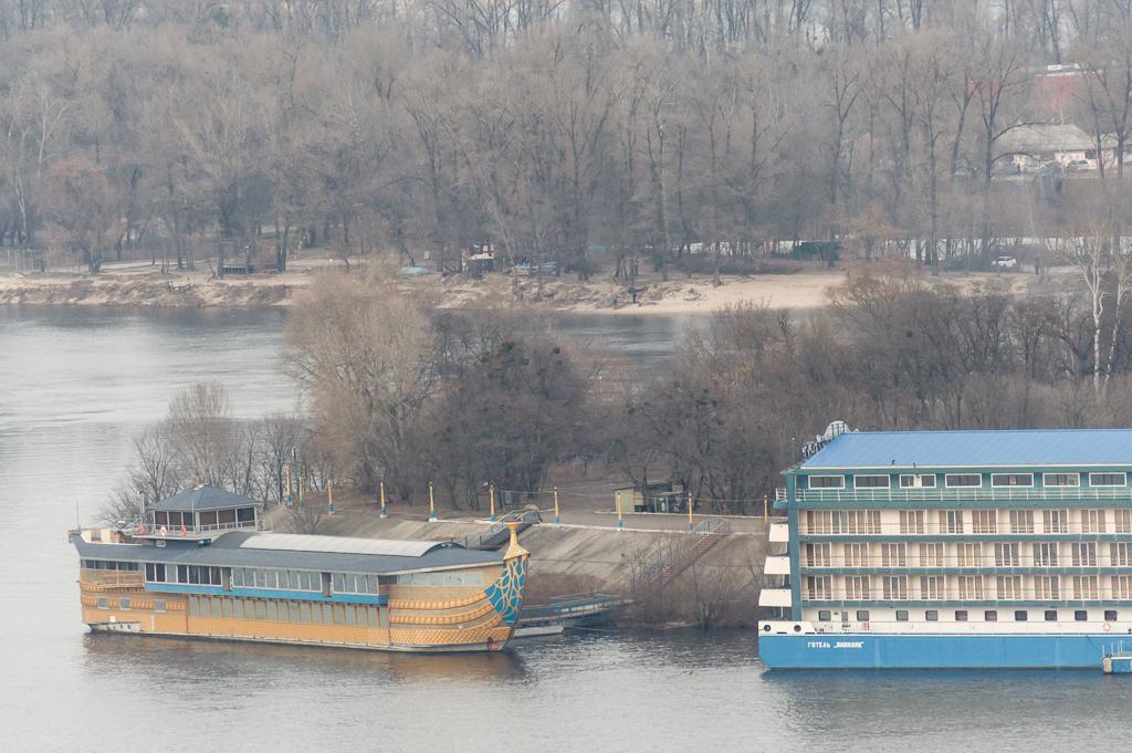 Dnipro river, Kyiv